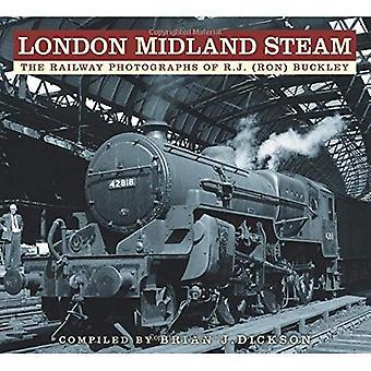 Lontoo Midland Steam: Railway valokuvia RJ (Ron) Buckley