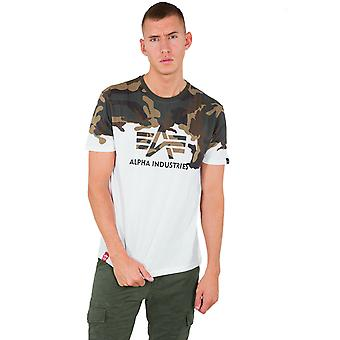 Alpha Industries férfi T-shirt Lost Camo