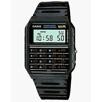 Casio montre digitale Quartz unisexe avec CA-53W-1ER de cercleuses plastiques
