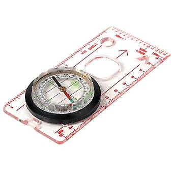 Highlander Deluxe Lightweight Map Ruler Compass