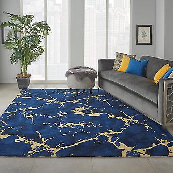 Symmetry SMM09 Navy  Rectangle Rugs Funky Rugs