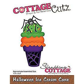 Scrapping Cottage Halloween Ice Cream Cone (Elites) (CC-530)