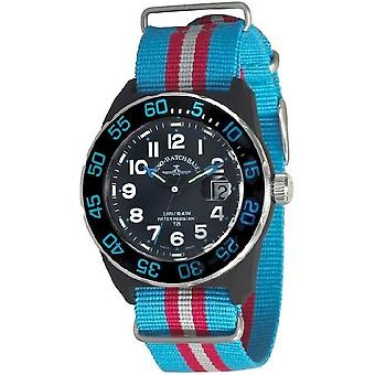 Zeno-Watch Herrenuhr Diver Look H3 Teflon 6594Q-a14-Nato-47
