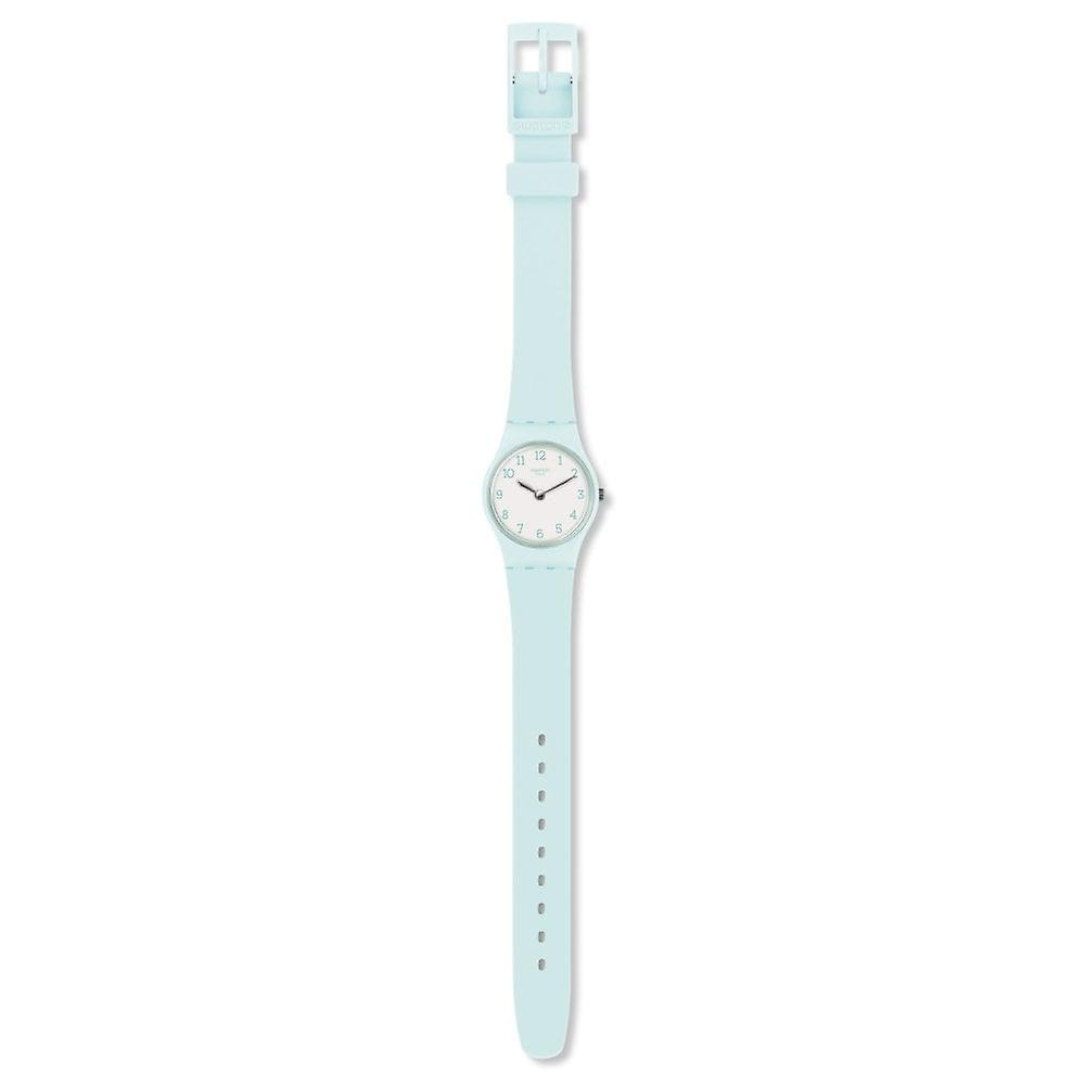Swatch Lg129 Greenbelle Silicone Watch