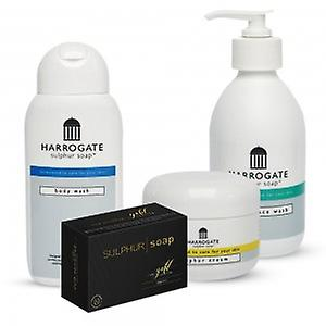 Harrogate Combo Pack - Soap, Cream, Hand and Face & Body Wash