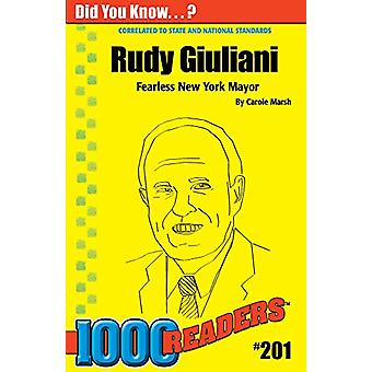 Rudy Guiliani by Carole Marsh - 9780635028266 Book