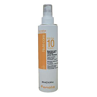 Fanola NES zorg herstructurering spray Mask leave in Dry & kroeshaar 6,76 OZ