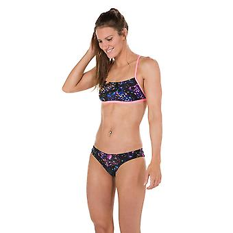 Speedo Diamondize 2 Piece Crossback Swimwear For Girls