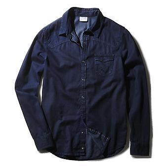 Manga longa camisa Denim Neo rótulos Adidas masculino - S90307