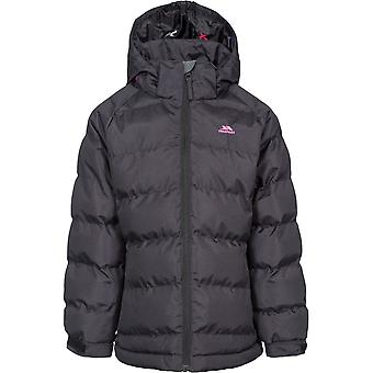 Trespass Girls Amira TP50 Insulated Waterproof Quilted Coat