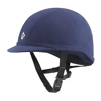 Charles Owen Yr8 rund ridning hat-navy blå