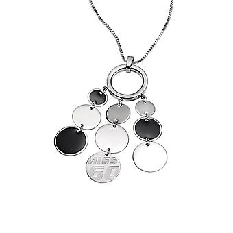 Miss Sixty Paillettes Black Necklace SMSC01