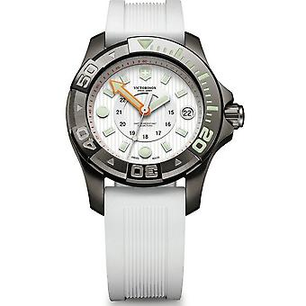 Victorinox dive master 500 Quartz Analog Woman Watch with V241556 Rubber Bracelet