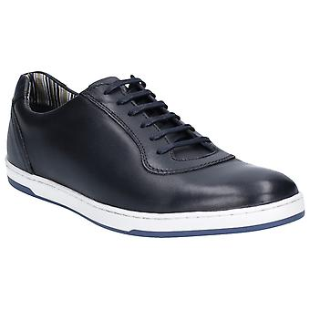 Base Londra Mens Hustle Softy Pizzo Up Trainer Navy