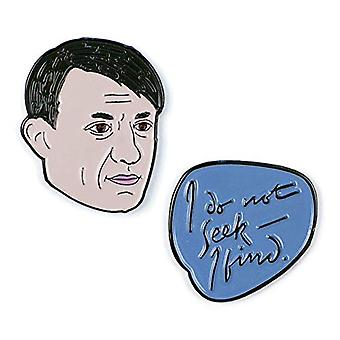 Pin Set - Pablo Picasso & I Do Not Seek - I Find New 5372