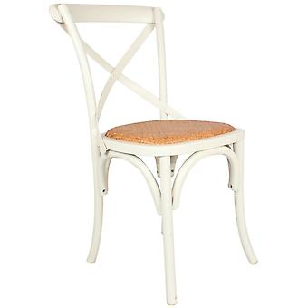 Wellindal Sasha Aqua Chair With Rattan Seat (Furniture , Chairs , Chairs)