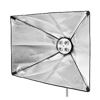 BRESSER SS-19 Softbox 60 x 90 cm per 4 lampade a spirale