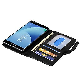 Cadorabo case for Galaxy J5 2017 case case cover - phone case with magnetic clasp and 3 card pockets – Case Cover Protective case case Book Folding Style