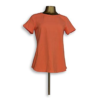 Kontrolle Frauen's Top Essentials Cap Light Orange A301362