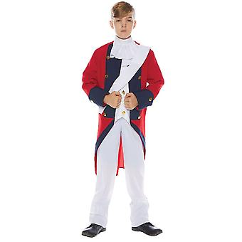 Redcoat Soldier Child Costume