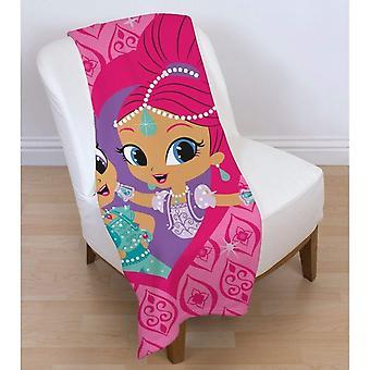 Shimmer And Shine Zahramay Fleece Blanket