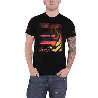 Mercyful Fate T Shirt Melissa Band Logo new Official Mens Black