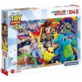 Clementoni Disney Toy Story 4 Maxi 104 pedaço de quebra-cabeça