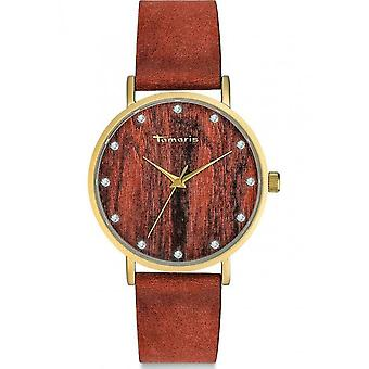 Tamaris - Ladies - Alva wristwatch - TW032 - brown gold