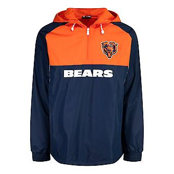 New Era BLOCK Windbreaker Jacket - Chicago Bears