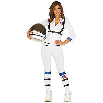 Womens Astronaut Fancy Dress kostym