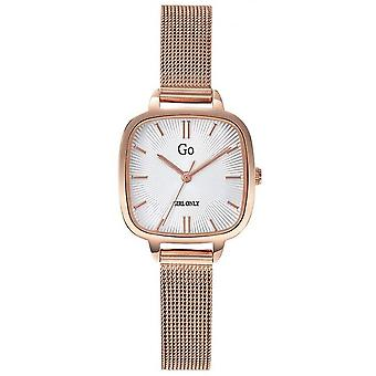 Watch Go Girl Only 695272 - Steel Box Dor Pink Carr White Dial Women