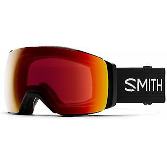 Smith I/O Mag XL Black - 96K - Sun Red Mirror