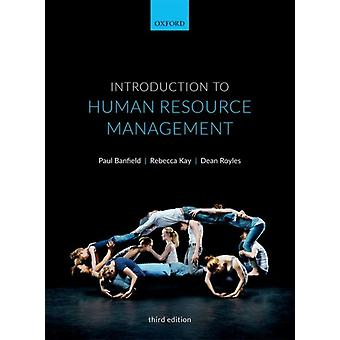 Introduction to Human Resource Management by Paul Banfield