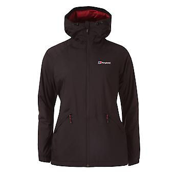 Womens Berghaus Deluge Pro Insulated Waterproof Jacket In Black
