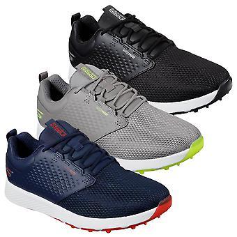 Skechers Mens 2021 Go Golf Elite 4 Prestige zapatos de cuero impermeable superior de golf