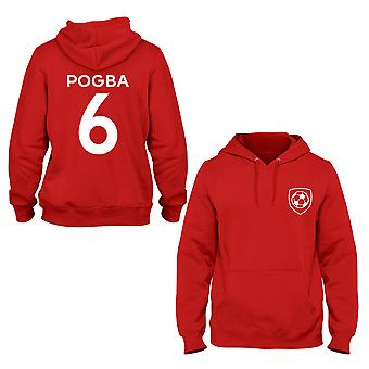 Paul Pogba 6 Manchester United Style Player Hoodie