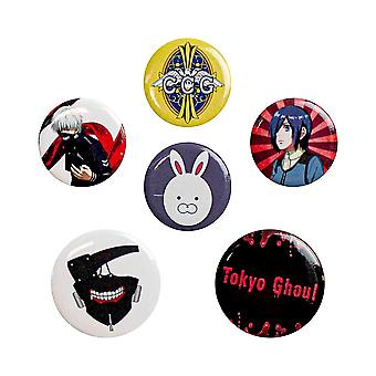 Tokyo Ghoul, 6x Piny
