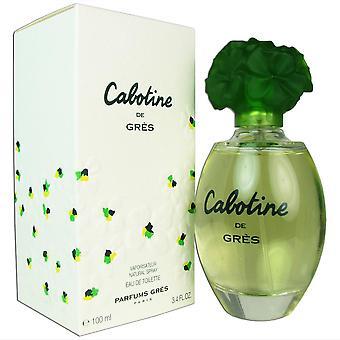 Cabotine for women by gres 3.4 oz eau de toilette spray