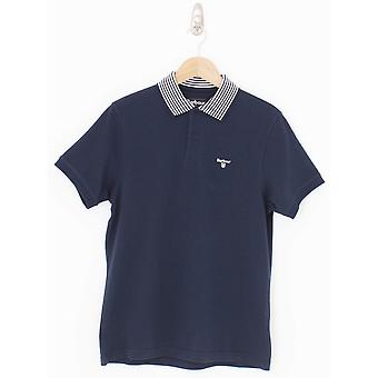 Barbour Brath Tipped Polo - Navy