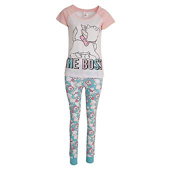 Aristocats Womens/Ladies Marie The Boss Cotton Pyjama Set