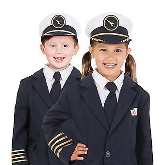 Pilote de Qantas Airline Flight semaine du livre sous licence filles garçons Costume chapeau