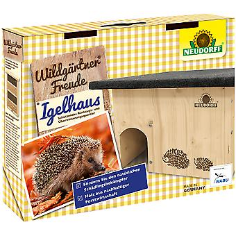 NEUDORFF Wild gardener®Joy hedgehog house, 1 piece