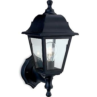 Firstlight Staid Traditional Black Coach Outdoor Up / Down Lantern