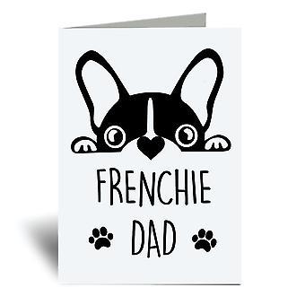 الفرنسية داد A6 بطاقة المعايدة