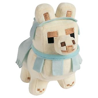 Minecraft, knuffel/knuffel-Lama 16,5 cm-Wit