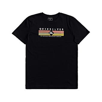 Quiksilver Distant Fortune Short Sleeve T-Shirt in Black