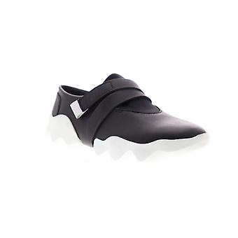 Camper Dub  Womens Black Leather Slip On Flats Loafers Shoes