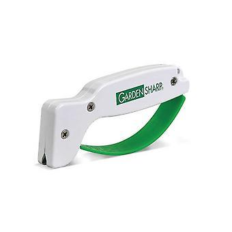 AccuSharp GardenSharp Classic Tool Sharpener, White/Green #006C
