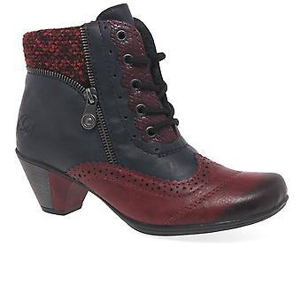 ريكر لارا أحذية الكاحل النسائية