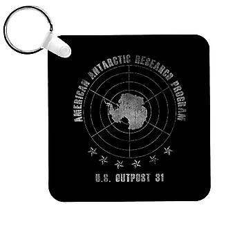 The Thing American Antarctic Research Program Keyring